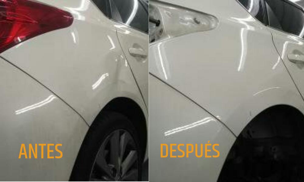 Reparación chapa coche